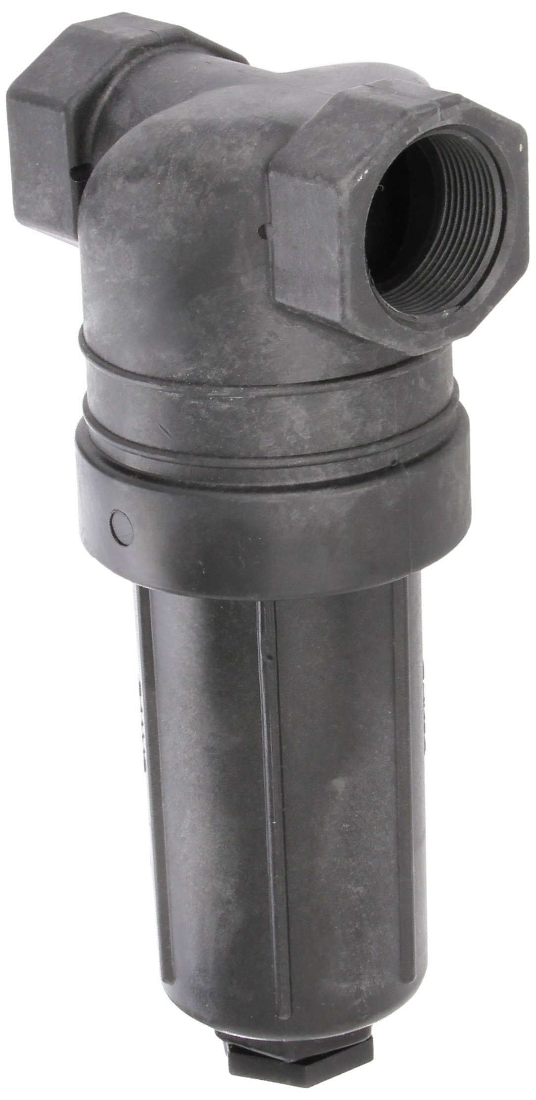 Banjo LST150-80 Polypropylene T-Strainer, 80 Mesh, 1-1/2'' NPT Female by Banjo Corp