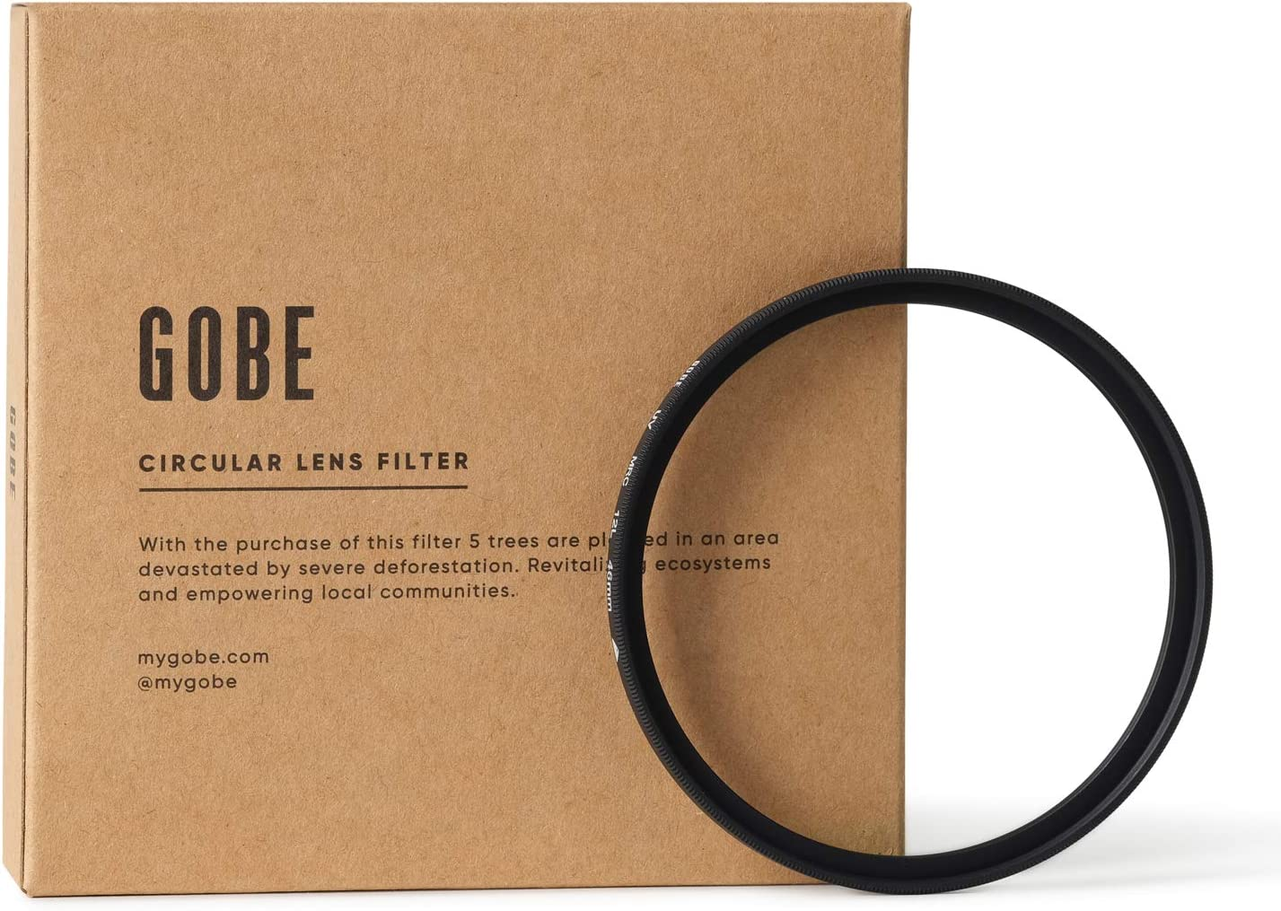 Gobe Filtre UV avec Rev/êtement 12 Couches Multi-R/ésistantes JapanOptics 46mm