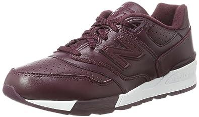 597, Running Homme, Rouge (Burgundy), 45 EUNew Balance