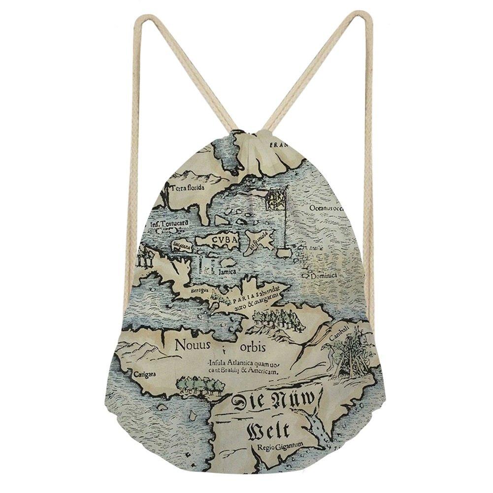 Showudesigns Gift Classic Drawstring Bag Kids Girl Shopping Beach Rucksack Z-CC3020Z3