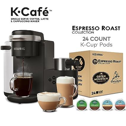 Amazoncom Keurig K Cafe Single Serve Latte And Cappuccino Coffee