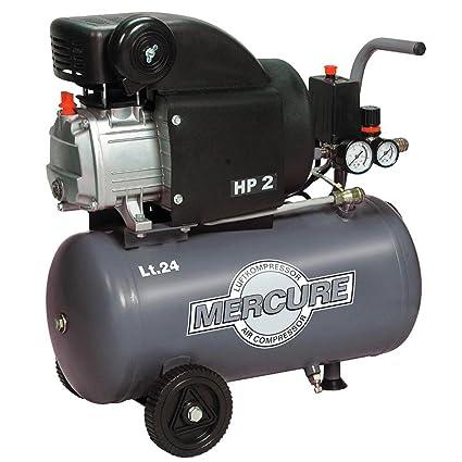 Compresor de aire 24 L, 2 CV, para aceite