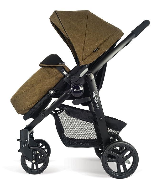 Carrito de Bebé Graco EVO 2-en-1 (Incluye Canasta) - Color Caqui - Cochecito Coche de Niño: Amazon.es: Bebé