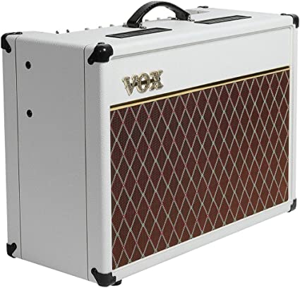 VOX AC15C1WB Limited White Bronco Electric Guitar Amplifier