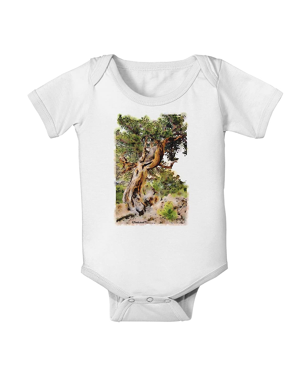 TooLoud Bristlecone Pines Baby Romper Bodysuit
