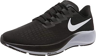 al revés Desgastado Retrato  Nike Air Zoom Pegasus 37, Zapatillas para Correr de Diferentes Deportes  Hombre, Black/White, 40.5 EU: Amazon.es: Zapatos y complementos