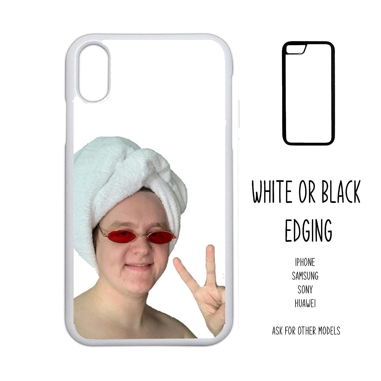 Plus 7 7 Case 8 8 S9 X XR XS 11 PRO Max Samsung Galaxy Edge S8 S9 S8 Lewis Capaldi Towel Head Selfie Portrait Aesthetic Novelty Gift Harajuku KPOP aesthetic grunge iPhone 4 5 5C SE 6 6