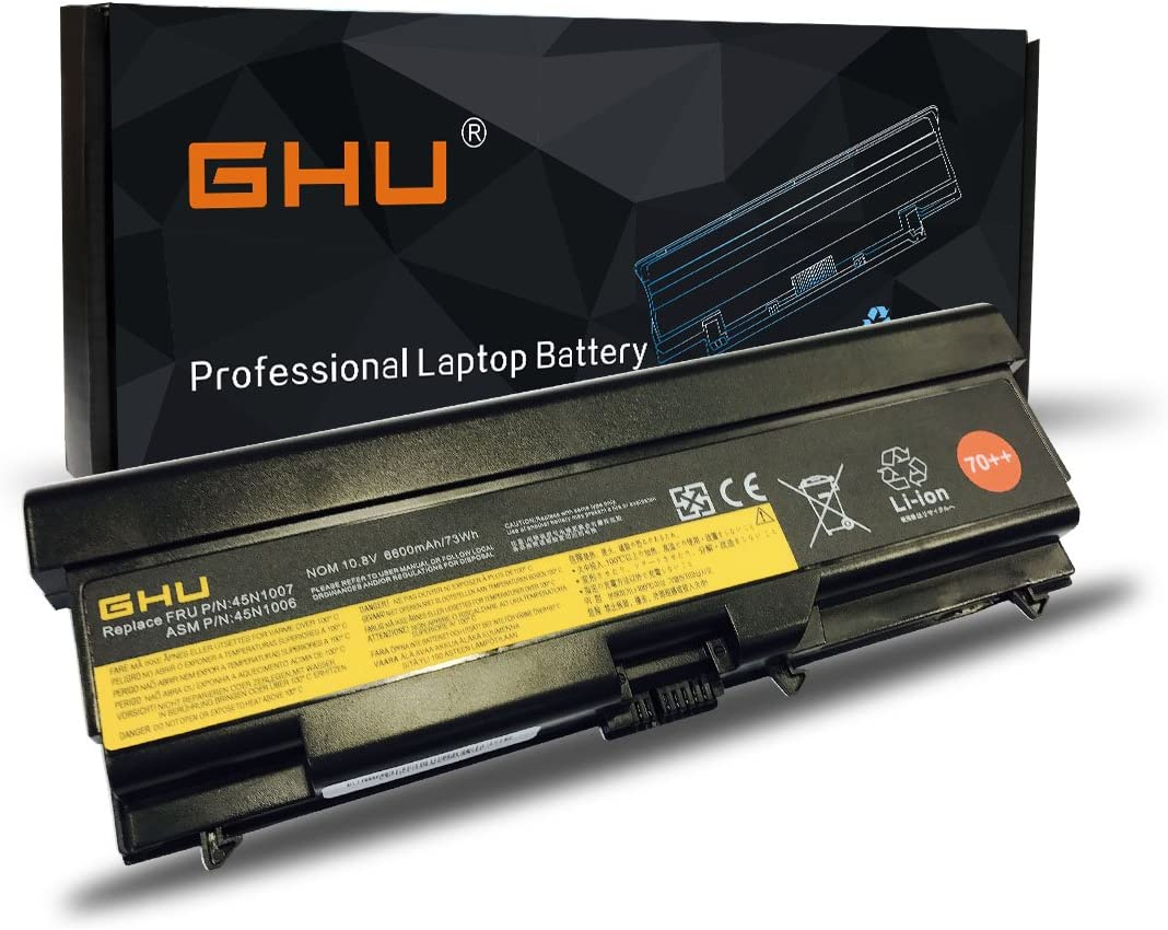 New GHU Laptop Battery 0A36303 0A36302 45N1001 45N1005 45N1007 45N1011 45N1173 70++ 9 Cell Replacement for Lenovo Thinkpad T410 T420 T420i T430 L410 L412 L520 L530 42T4753 51J0499 57Y4185 57Y4186