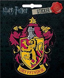 """Ata-Boy Harry Potter Gryffindor Crest 4"""" Full Color Sticker"""
