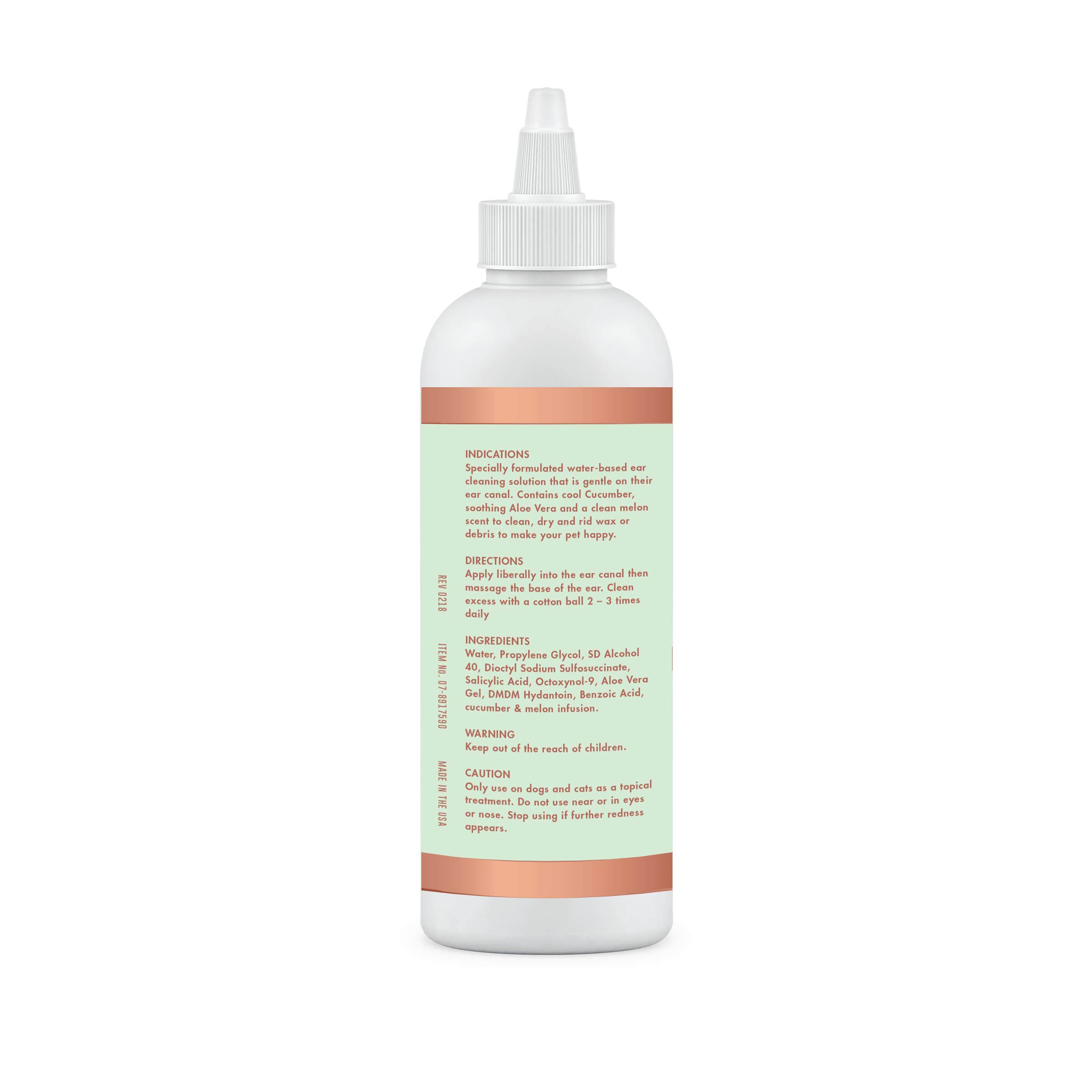Dog Ear Cleaning Solution To Remove Stinky Stuff In Ears Like Ear Wax To Avoid Infection For Cats And Dogs Cucumber Melon Buy Online In Faroe Islands At Desertcart