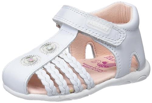 6e0c9d92d5e PABLOSKY 025800 Sandalia Cerrada Bebe NIÑA Blanco 38: Amazon.es: Zapatos y  complementos