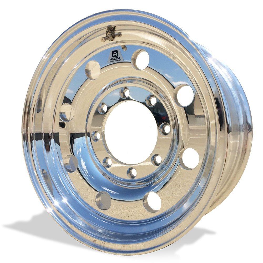 Alcoa 16'' x 7'' Classic 8 Aluminum 8 Lug Single Rear BUDD Polished Wheel (167041)