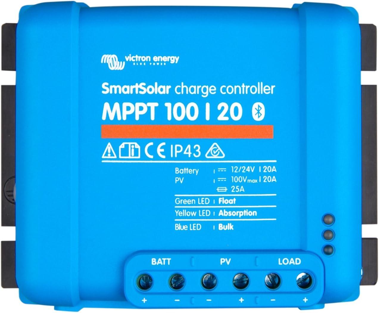 Victron Energy MPPT 100|20 Controlador de carga solar