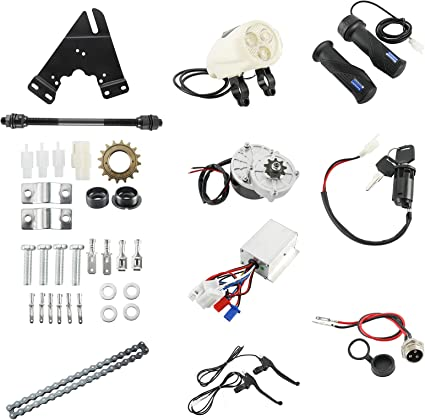 250W Electric Bike Components Conversion Kit Motor Controller fit 22-28/'/'Bicycle