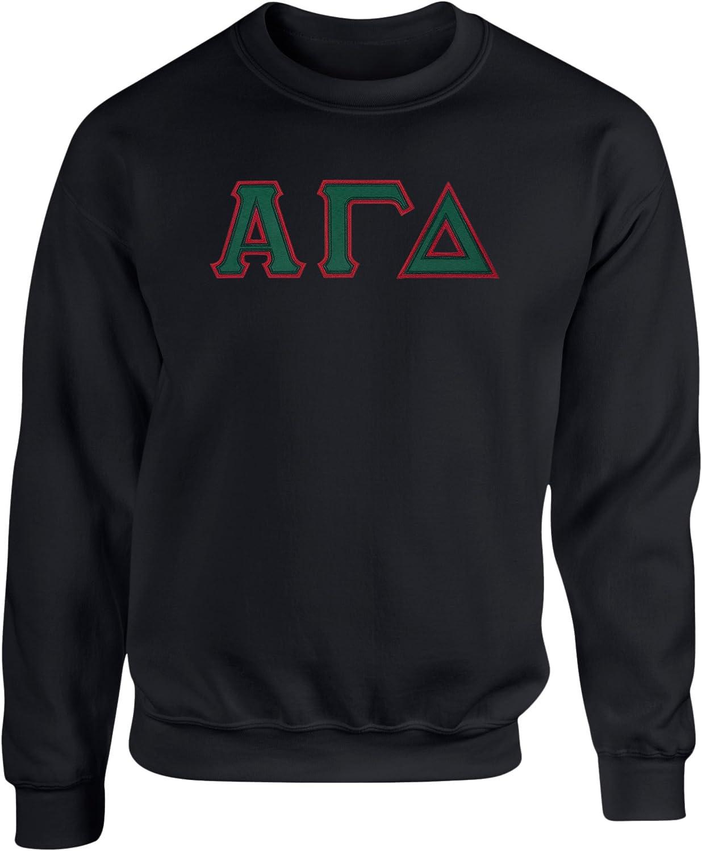 Alpha Gamma Delta-sorority lettered t-shirt Size Large