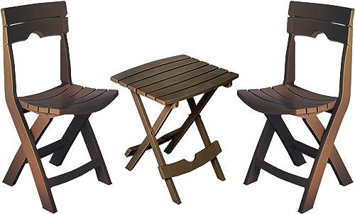 Adams Manufacturing 8595-60-4731 Quik-Fold Conversation Set