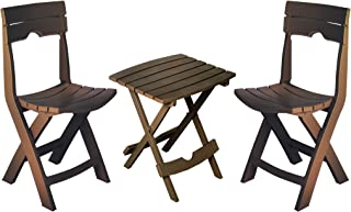 product image for Adams Manufacturing 8595-60-4731 Quik-Fold Conversation Set, Earth Brown