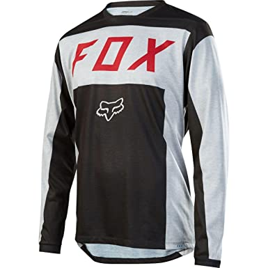 Fox Racing Indicator Moth LS MTB Jersey  Amazon.co.uk  Car   Motorbike 175c5acfc