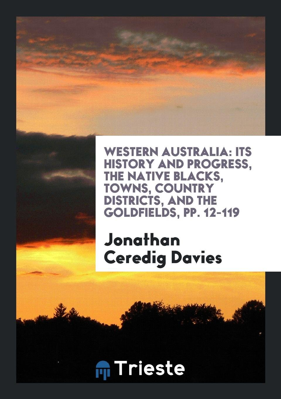 Read Online Western Australia: Its History and Progress, the Native Blacks, Towns, Country Districts, and the Goldfields, pp. 12-119 (German Edition) pdf