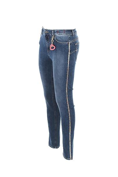 MY TWIN Jeans Donna 26 Denim Js82v2 Primavera Estate 2018: Amazon.co.uk:  Clothing