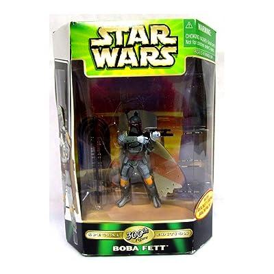 Star Wars-Boba Fett 300th w/Rocket backpack (.0100): Toys & Games