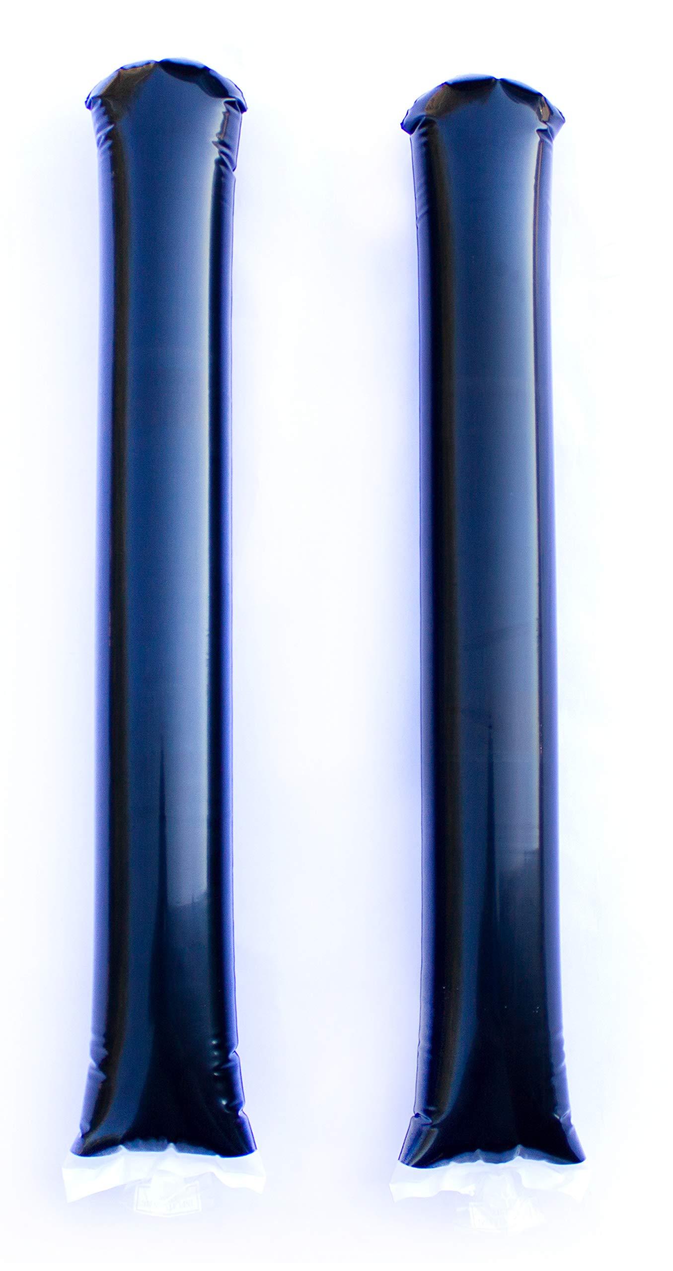 Promote Your Team Spirit Sticks Black - 50 Pairs by Spirit Sticks (Image #1)