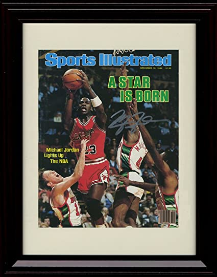 e58f3a32a1a Image Unavailable. Image not available for. Color: Framed Michael Jordan ...