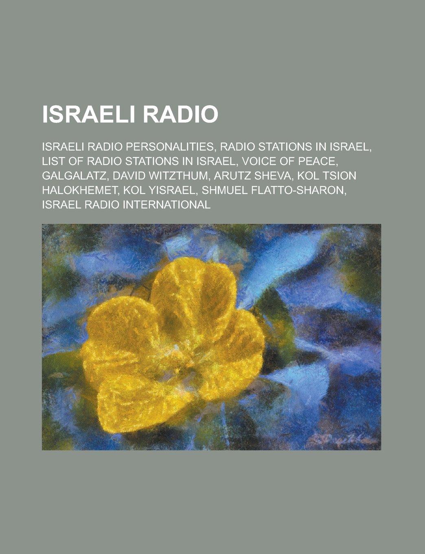 Israeli Radio: Israel Army Radio Commanders, Israeli Radio ...