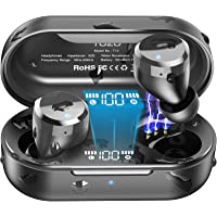 TOZO T12 TWS Bluetooth 5.0 Earbuds 【True Wireless Stereo】 Headphones IPX8 Waterproof in-Ear Wireless Charging Case Built…
