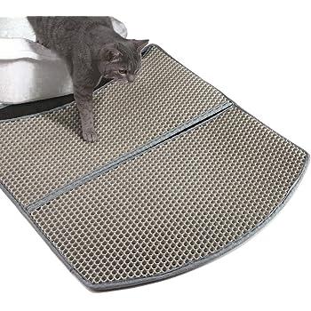 Amazon Com Woopet Litter Mat For Cat Grey 24 X 22