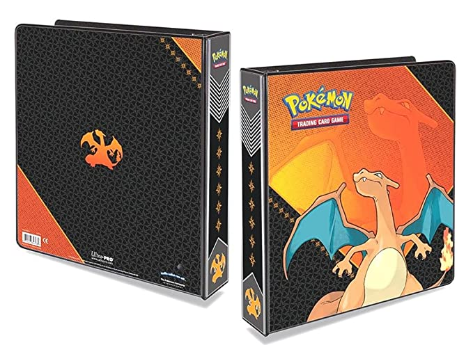 Amazon.com: Pokemon: álbum de Charizard, 2 pulgadas ...