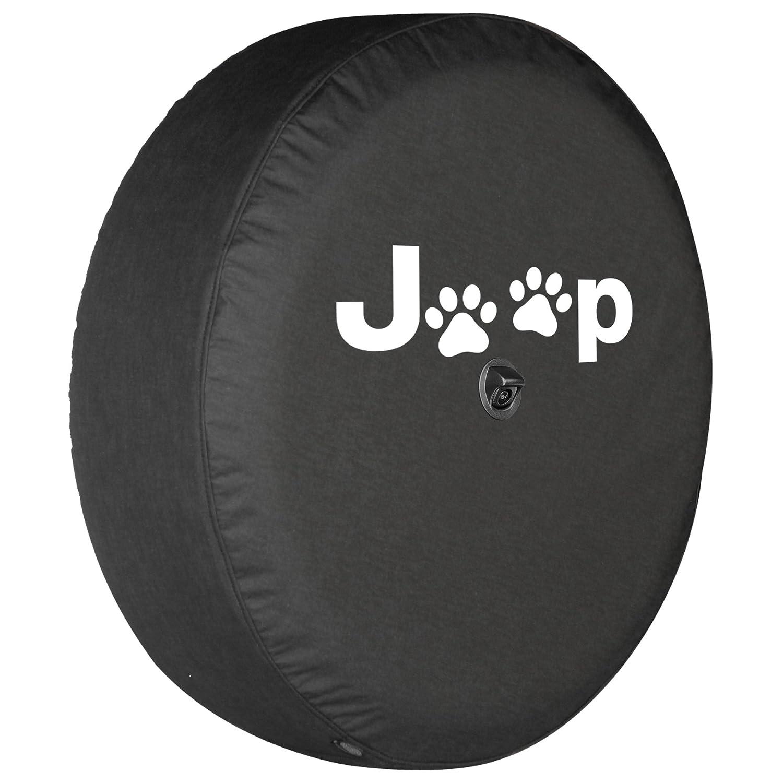 2018 Jeep Wrangler JL (w/Back up Camera) - 32' Soft Tire Cover - Jeep Paws Boomerang Enterprises Inc.