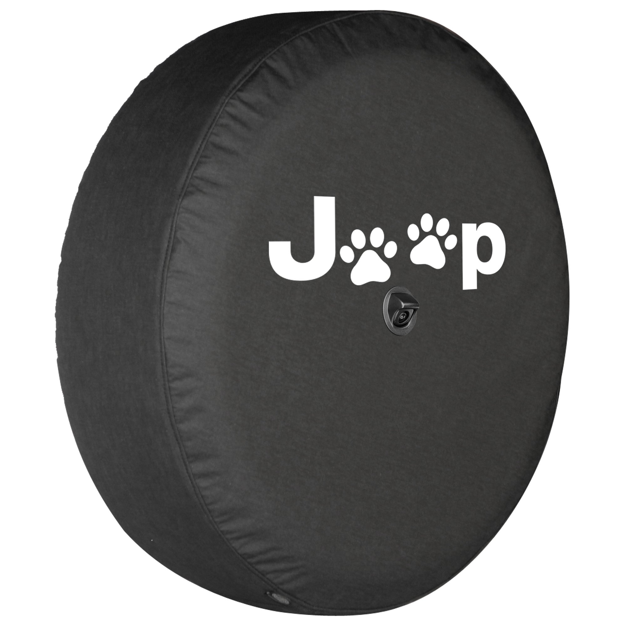 Boomerang 2018 Jeep Wrangler Rubicon JL & JLU - 33'' Soft Tire Cover - Jeep Paws by Boomerang (Image #1)