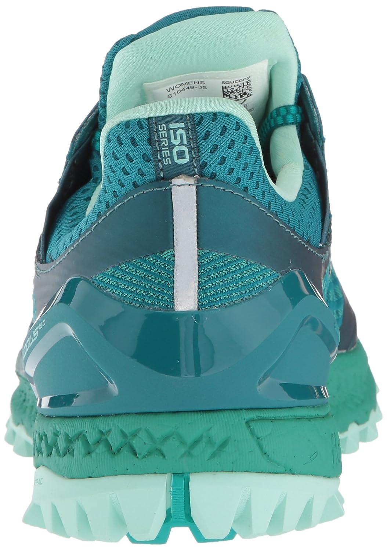 Saucony Women's Xodus Iso 3 Sneaker B077XZ77RR 6.5 B(M) US|Green/Aqua