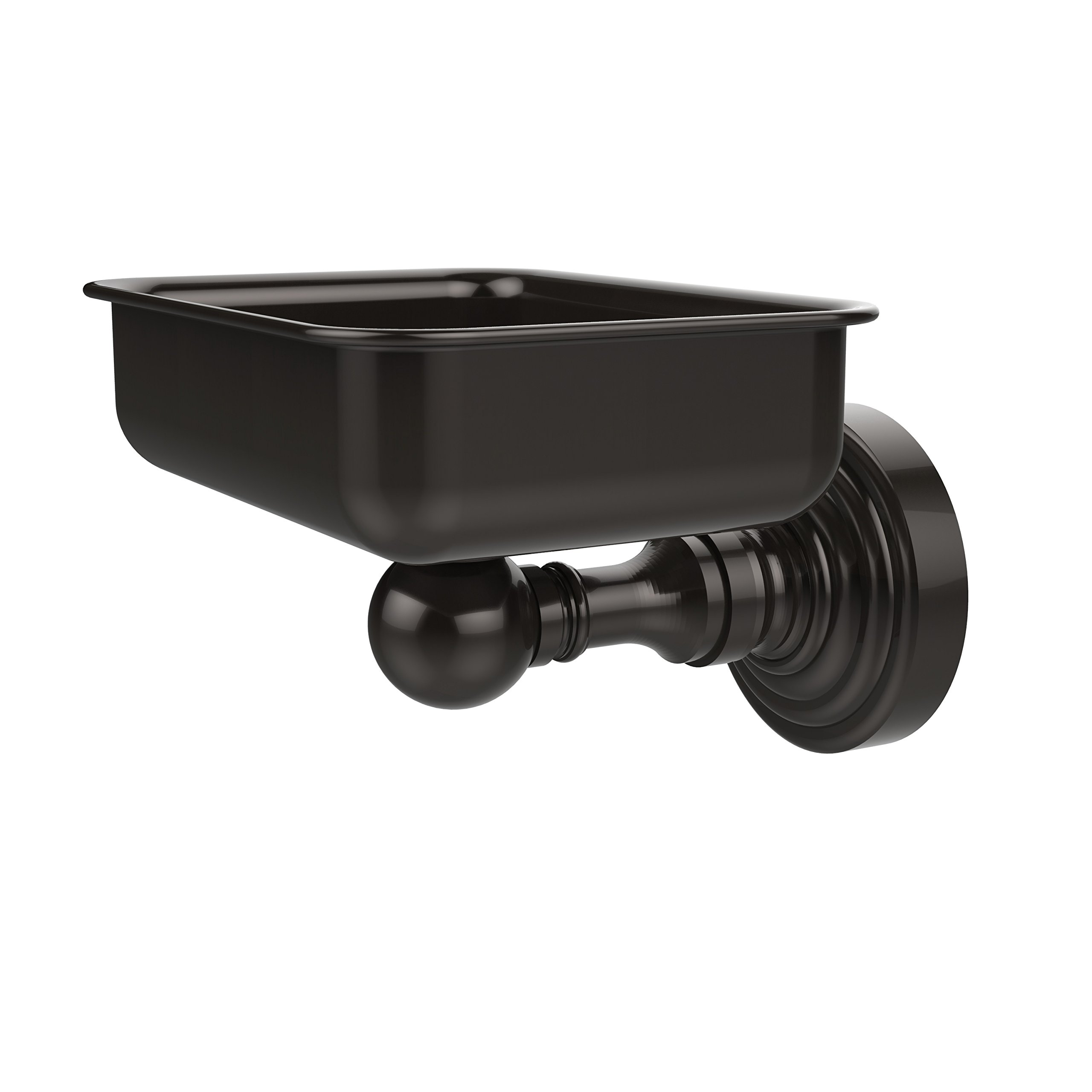 Allied Brass WP-32-ORB Soap Dish with Glass Liner, Oil Rubbed Bronze
