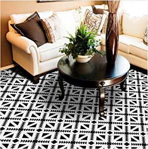 HyFanStr 7.87 x 118 Inches Backsplash Peel & Stick Tile Stickers Self-Adhesive Wall Floor Home Decor