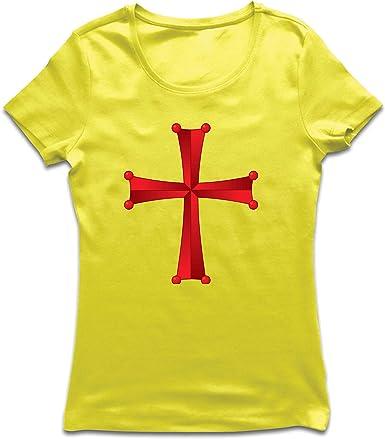 lepni.me Camiseta Mujer Orden del Templo de Salomón - La Cruz ...