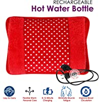 MCP Electric Hot Water Bag Heating Gel Pad Fur Velvet With Hand Pocket and Auto cut off Pain Relieve (Colour May Vary)