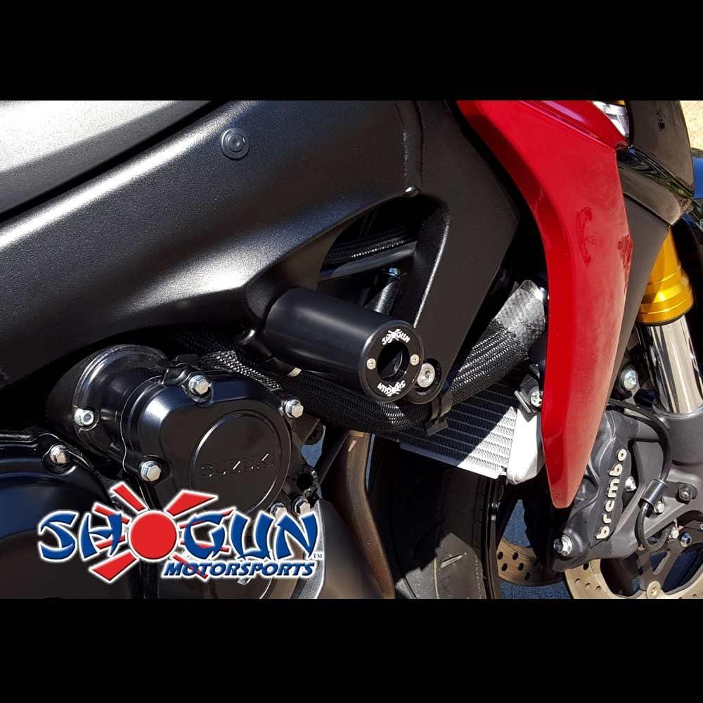 715-5639 Shogun Suzuki GSX-S1000F GSX S1000 2016 2017 2018 2019 2020 Black PA2 No Cut Frame Sliders MADE IN THE USA