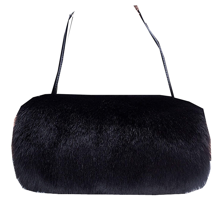 Ysting Hand Warmer Muff Hand Muff With Neck Cord Plush Portable Fashion Handwarmer For Girls In Winter (L)
