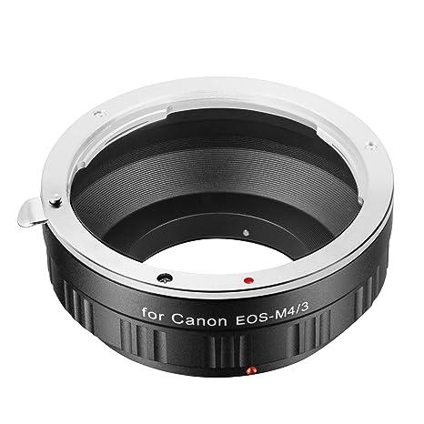 selezionare per lo spazio vendita calda online fascino dei costi Neewer adattatore per obiettivi Canon EOS EF lente am/43 micro Four Thirds  System camera, M/43 micro Four Thirds System camera come G1 G2 G3, GF6, ...