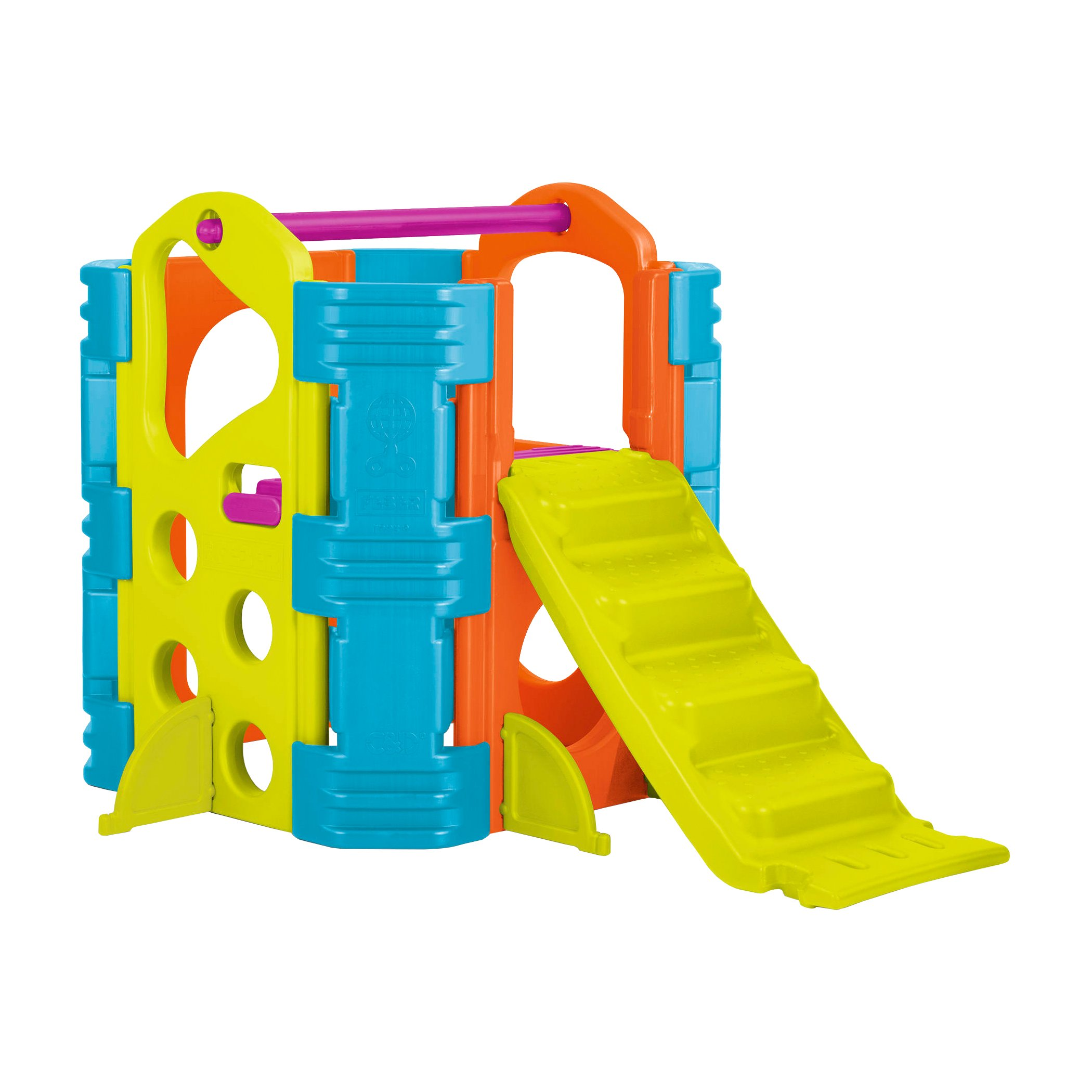 ECR4Kids Climb and Slide Playset, Vibrant