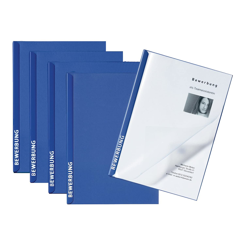 Pagna Bewerbungsset Score Basic, 3 Seiten, blau: Amazon.de: Bürobedarf &  Schreibwaren