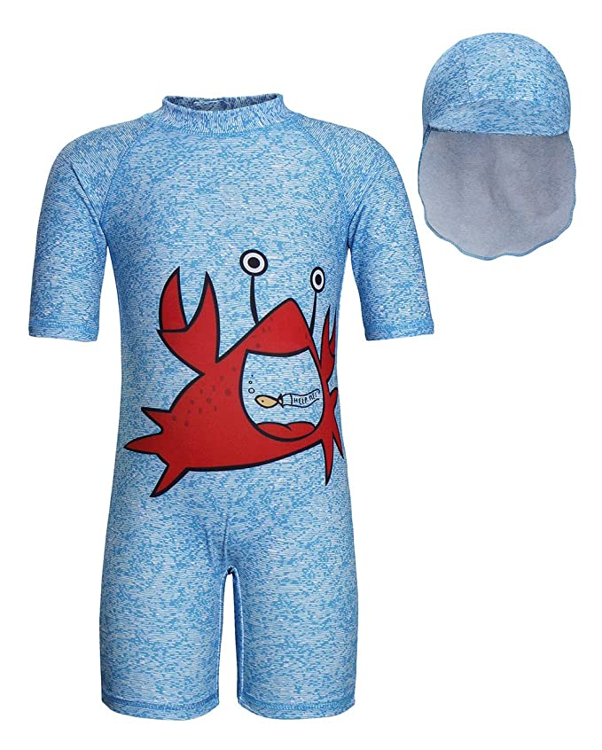 Baby Kids Girls Two Pieces Swimwear Mermaid Flamingo Flower Sun Protection Swimsuit UV Rash Guard Sets