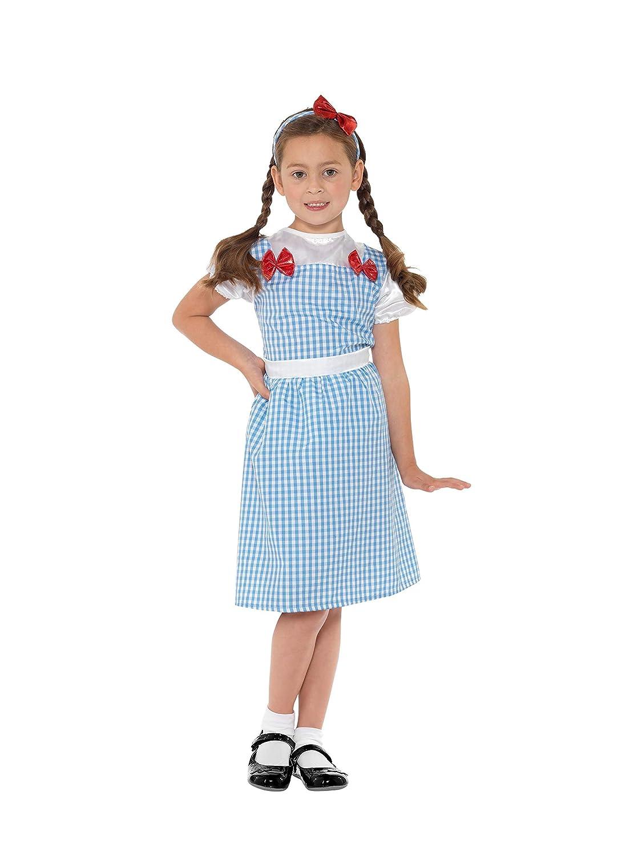 SmiffyS 41102S Disfraz De Chica De Campo, Vestido Y Elemento Para ...