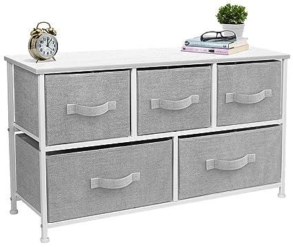 Amazoncom Sorbus Dresser With 5 Drawers Furniture Storage Tower