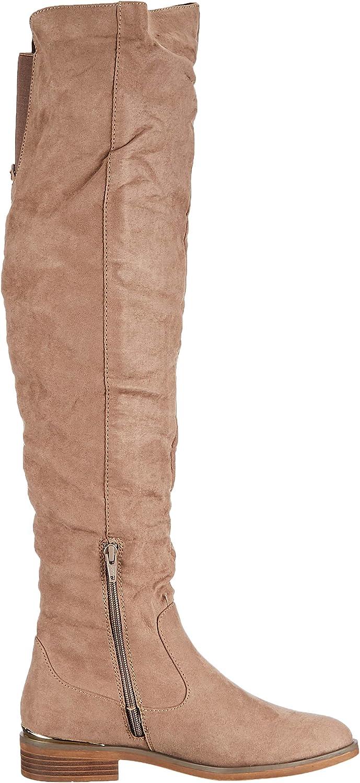 s.Oliver Women's 5-5-25503-23 400 Overknee Boots Beige Beige 400