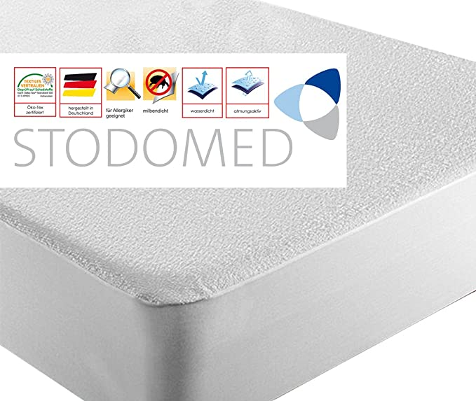 Juego de fundas protectoras impermeables para colchón (2 unidades, para colchones de 90 x 180 cm a 100 x 200 cm): Amazon.es: Hogar
