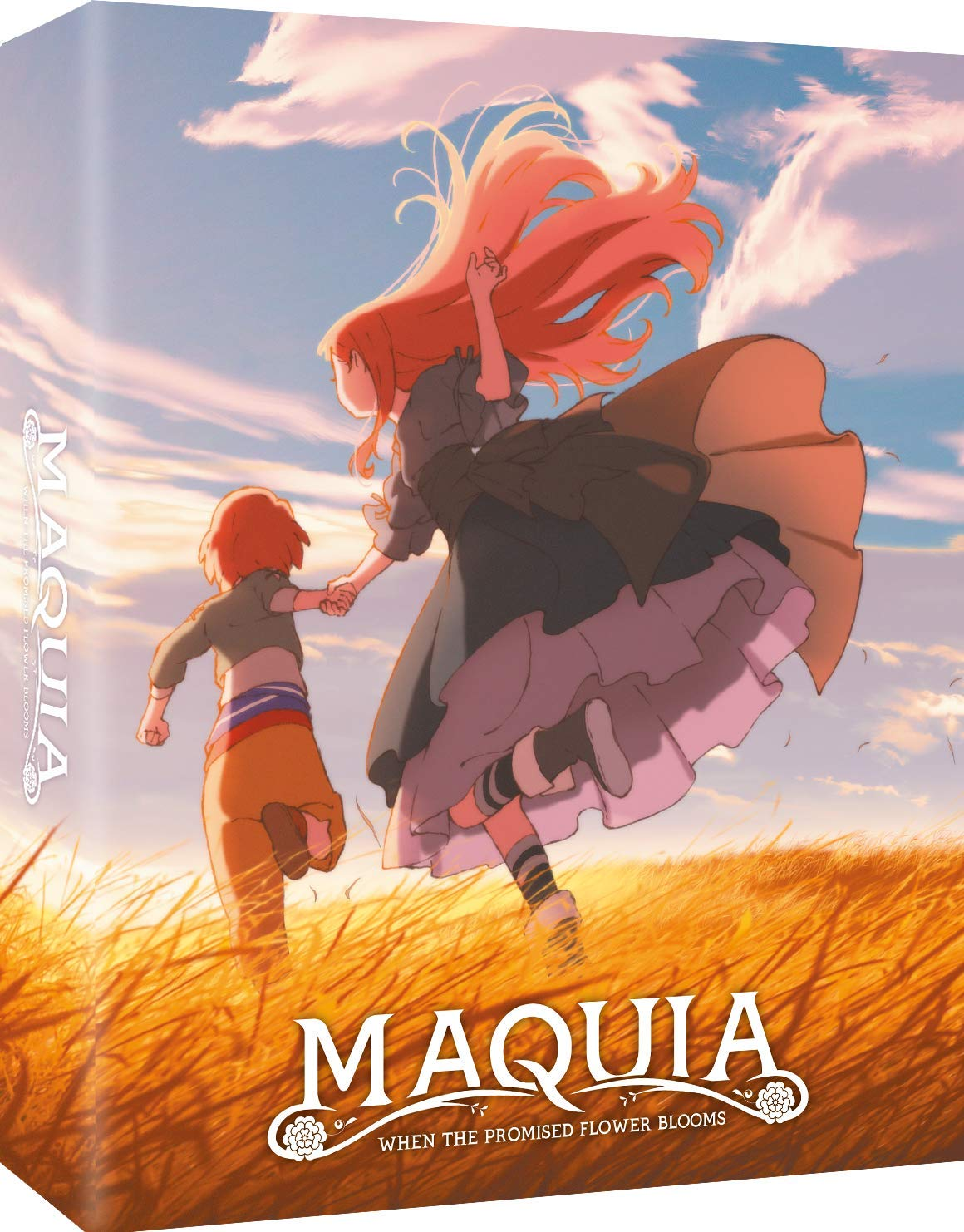 Amazon Com Maquia When The Promised Flower Blooms Edition Collector Combo Br Dvd Blu Ray Movies Tv