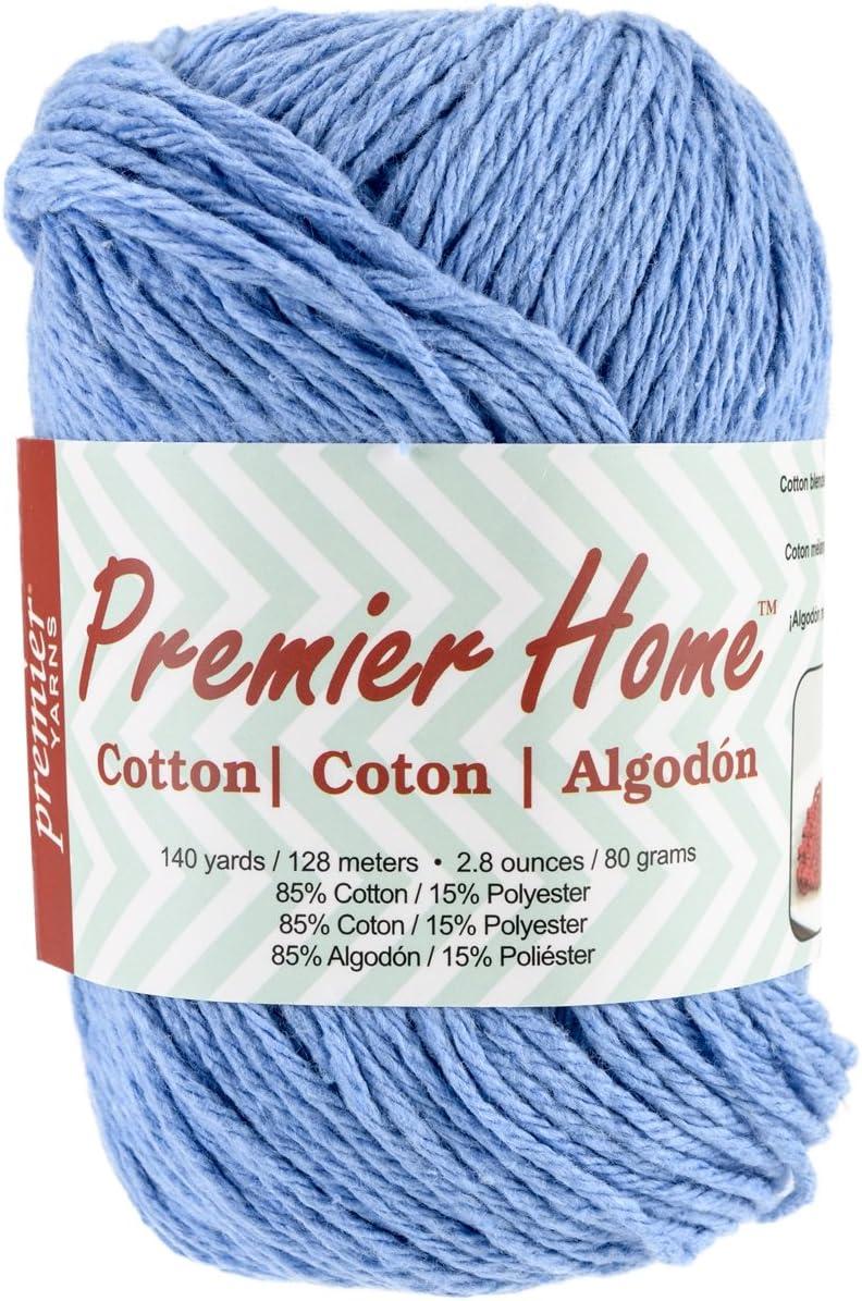 Premier Yarns Home Cotton Yarn, Solid Cornflower